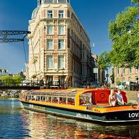 Klook ดีล : ทริปล่องเรือในคลองอัมสเตอร์ดัม 1 ชั่วโมง ราคาพิเศษ