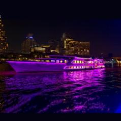 KKday แพ็คเกจล่องเรือ แกรนด์เพิร์ล รับประทานอาหาร บนแม่น้ำเจ้าพระยา