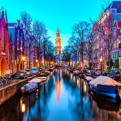 เอมิเรตส์ เที่ยวบิน : จองเที่ยวบินไป อัมสเตอร์ดัม รับเงินคืนเพิ่ม 1%